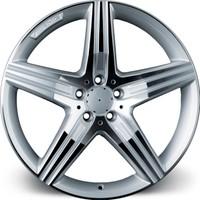 "EMR L541 20"" Mercedes Uyumlu 9.5 Offset 5x112 ET38 Silver Machined Jant"