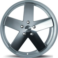 "ARCEO L962 19"" Volkswagen,Audi,Seat,Skoda 8.5 Offset 5x112 ET35 Silver Machined+Lip Machined Jant"