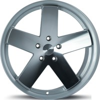 "ARCEO L962 19"" Volkswagen,Audi,Seat,Skoda 9.5 Offset 5x112 ET33 Silver Machined+Lip Machined Jant"