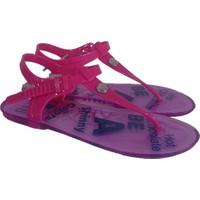 Ahs Taşlı Jelly Şeffaf Taban Kadın Sandalet