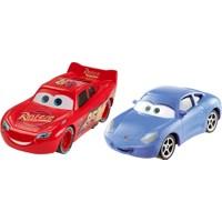 Cars 3 Lightning McQueen Sally Karakter 2'li Araç Seti
