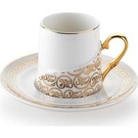 Schafer 4 Parça Ottoman Kahve Fincan Takımı Gold (13923)