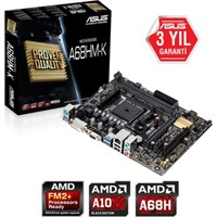 Asus A68Hm-K Ddr3 2400Mhz S+V+Gl+16X Fm2+