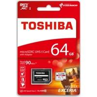 Toshiba 64 Gb Micro Sdhc Uhs-1 C10 Thn-M302R0640Ea