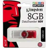 Kingston 8 Gb Usb 2.0 Memory Dt101G2/8Gb
