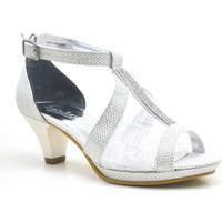 Sarıkaya® Abiye Sedefli Taşlı Topuklu Kız Çocuk Ayakkabı