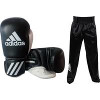 Adidas Response Siyah Kick Boks Eldiveni - Kick Boks Pantolonu Seti