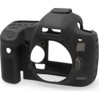 Canon 5D Mark 3 / 5DS R / 5DS Siyah EasyCover (Silikon Kılıf)