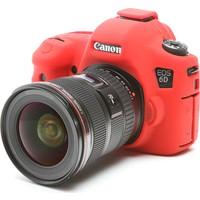 Canon 6D Kırmızı EasyCover (Silikon Kılıf)