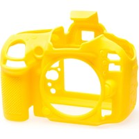 Nikon D600/D610 Sarı EasyCover (Silikon Kılıf)