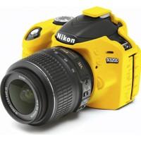 Nikon D3200 Sarı EasyCover (Silikon Kılıf)