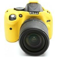 Nikon D5200 Sarı EasyCover (Silikon Kılıf)