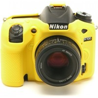 Nikon D7100/D7200 Sarı EasyCover (Silikon Kılıf)
