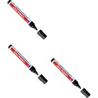 Edding Beyaz Tahta Kalemi E-260 Siyah 10 Lu