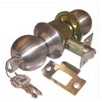 Topuzlu İç Kapı Kilidi Tenyale Saten - Anahtarlı