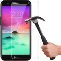 Microcase LG K10 2017 5.3 Tempered Glass Cam Ekran Koruma