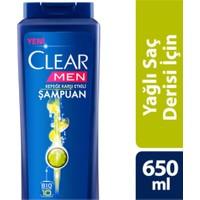 Clear 650Ml Men Yaglı Sac Derısı Icın Maksımum Fer