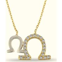 Golden Silver World 14 Ayar Altın At Nalı Kolye
