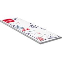 KullanAtMarket Kağıt Masa Örtüsü Yunus Balığı 100x100 cm