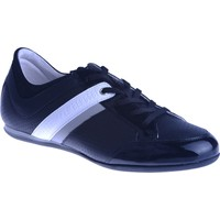 Bikkembergs Springer 370 i.Shoe M Patent/Leather Black/Grey Bke107828 Erkek Ayakkabı Black Grey