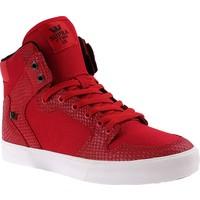 Supra Vaider S28258 Erkek Ayakkabı Red Snake Whıte