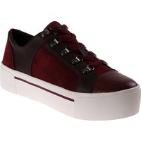 Dkny Silky Sheep Suede/Haircalf Leather 23353418 Kadın Ayakkabı Beet Red