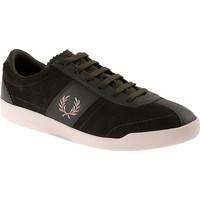 Fred Perry 153 Stockport Suede / Leather-B7463 B7463 Erkek Ayakkabı Khakı/Sılver