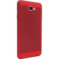 Kılıfshop Samsung Galaxy J7 Prime Fileli Silikon Kılıf