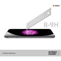 Dafoni Sony Xperia XA1 Ultra Curve Tempered Glass Premium Full Cam Ekran Koruyucu