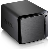 "Zyxel NAS540 4-Disk Slotlu 32TB 2.5""/3.5"" SATA I/II Harddisk DLNA myZyxelcloud DDNS ISCSI Destekli Uzaktan Yönetilebilir Ağ Veri Depolama Cihazı"