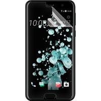 Microsonic HTC U Play Kavisler Dahil Tam Ekran Kaplayıcı Şeffaf Koruyucu Film