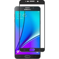 Microsonic Samsung Galaxy Note 5 3D Kavisli Temperli Cam Ekran koruyucu Kırılmaz Film