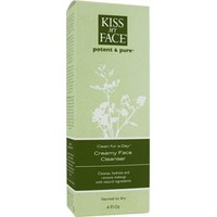 Kiss My Face Clean For A Day (Creamy Face Cleanser) Glutensiz Yüz Temizleme Kremi 114 ml