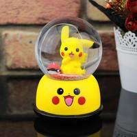 Pikachu Işıklı Müzik Kutusu Kar Küresi