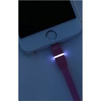 Remax Breathe Apple Lightning Ledli Hızlı Şarj&Data Kablosu
