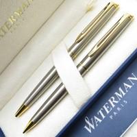 Waterman Hemisphere SS-GT Tükenmez Kalem + Versatil Kalem Set Hediye Kalem