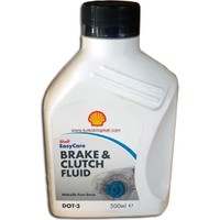 Shell Fren ve Debriyaj Hidrolik Yağı Dot 3 - 500 ml