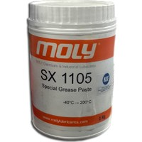 Moly SX1105 Silikonlu Gıda Onaylı Vana Sızdırmazlık Gresi- 1 kg