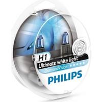Philips H1 Diamond Vision 12v 55w 5000k- Far Ampul Seti