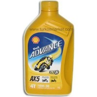 Shell Advance AX5 15W-50 - 1 L