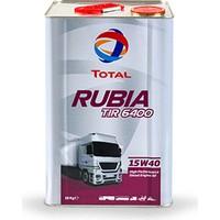 Total Rubia TIR 6400 15W-40 - 16 kg