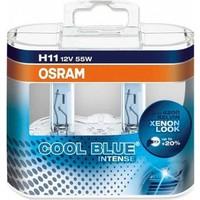 Osram 12V H11 Cool Blue Ampul 4200 K Beyaz Işık 64211 CBI DUO