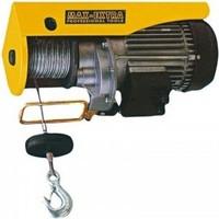 Max Extra Elektrikli Vinc 400/800 Kg Halat 20 Mt