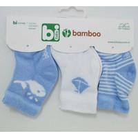 Bibaby 68134 Bambu Erkek 3'lü Çorap
