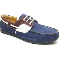 Çetintaş Hakiki Deri Ayakkabı Lacivert 4154