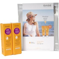 Babe Gs Gunes Kremı Dry Touch Super Ikılı Kofre Ikıncısı %50 Indırımlı