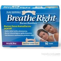 Breathe Rıght Burun Bandı 10 Adet(Buyuk Boy)