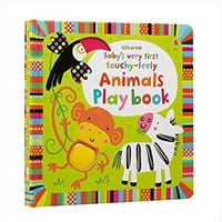 Baby S Very First Touchy-Feely Animals Play Book