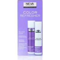Neva Color Refresher Renk Yenileyici Gümüş Şampuan ve Krem Set 300 ml