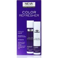 Neva Color Refresher Renk Yenileyici Viyole Şampuan ve Krem Set 300 ml